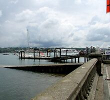 LOOKING ACROSS TO EAST COWES. by ronsaunders47