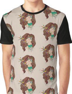 Native Girl Graphic T-Shirt
