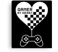 Gamer at Heart Canvas Print