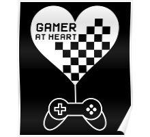 Gamer at Heart Poster
