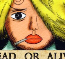 One Piece Bounty - Sanji Sticker