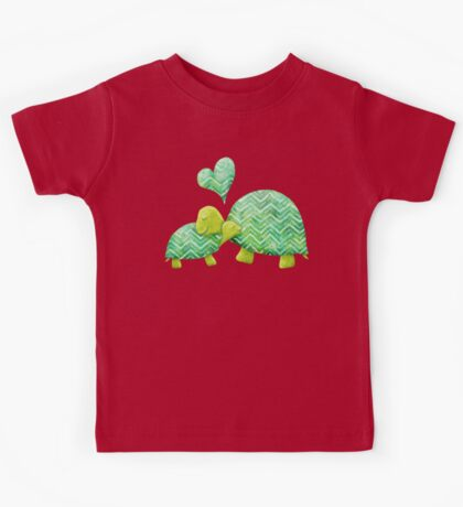 Turtle Hugs Kids Tee