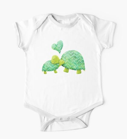 Turtle Hugs One Piece - Short Sleeve