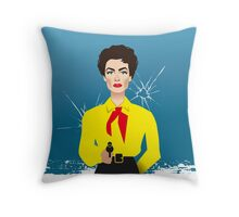 Joan Crawford as Vienna Throw Pillow
