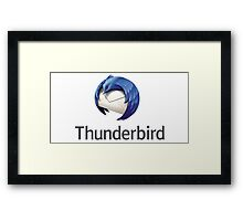 thunderbird email mail software Framed Print
