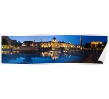 National Gallery Night Panorama Poster