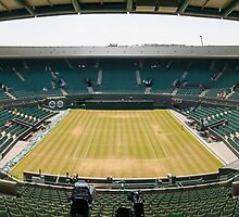 Wimbledon Court One by TomGreenPhotos