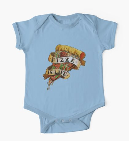 Pizza is Life One Piece - Short Sleeve