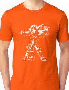 Jak and Daxter - Jak 2 White Silhouette Unisex T-Shirt