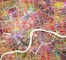 London map by MapMapMaps