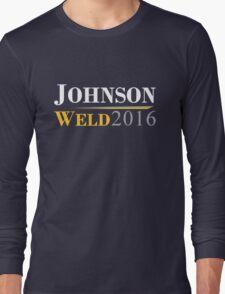 Johnson Weld Campaign Logo Long Sleeve T-Shirt