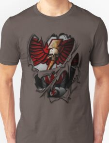 White Scars Armor Unisex T-Shirt