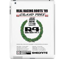"Ridge Racer R4 ""Real Racing Roots '99 GP""  iPad Case/Skin"
