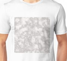 White solid marble Unisex T-Shirt