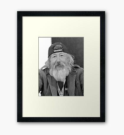 Yankee Fan Framed Print