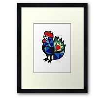 Polish Folk Rooster Framed Print