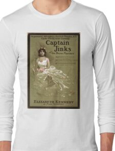 Captain Jinks of the Horse Marines - Strobridge - 1902 Long Sleeve T-Shirt