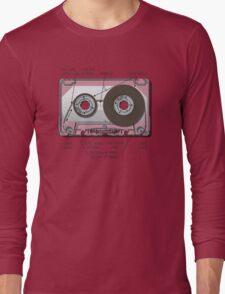 Audio cassette cutaway Long Sleeve T-Shirt