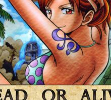 One Piece Bounty - Nami Sticker