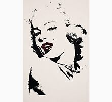 Red lips of Marilyn Unisex T-Shirt