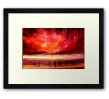 For A Moment We Are Strangers Framed Print