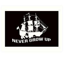 Peter Pan - Never grow up Art Print
