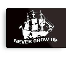 Peter Pan - Never grow up Metal Print