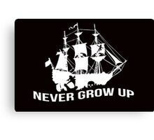 Peter Pan - Never grow up Canvas Print