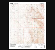 USGS TOPO Map Arizona AZ Wilbur Canyon 314102 1996 24000 Unisex T-Shirt