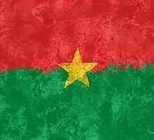 Burkina Faso Flag - Grunge by GrizzlyGaz