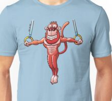 Flying Rings Monkey Unisex T-Shirt