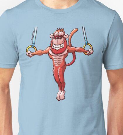 Flying Rings Monkey Unisex T-Shirt