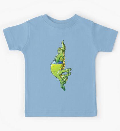Diving Crocodile Kids Tee