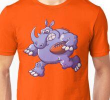 Rugby Rhinoceros Unisex T-Shirt