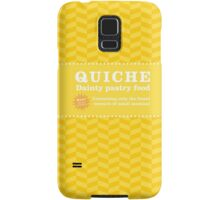 Monsters can eat quiche Samsung Galaxy Case/Skin