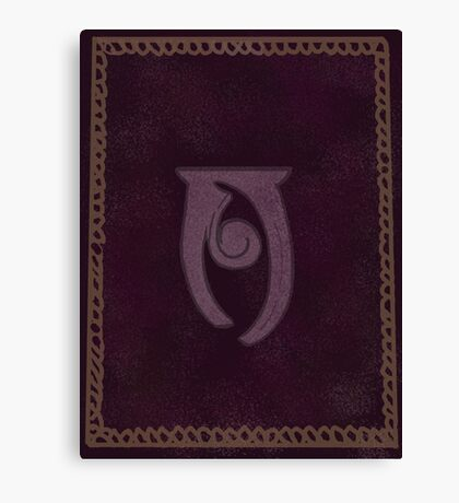 Conjuration Spelltome Canvas Print