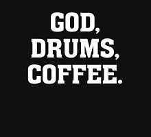 God, Drums, Coffee - Christian Drummer Musician T Shirt Classic T-Shirt