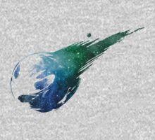 Final Fantasy VII logo universe One Piece - Short Sleeve