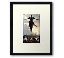 Assassin's Creed Design Framed Print