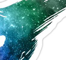 Final Fantasy VII logo universe Sticker