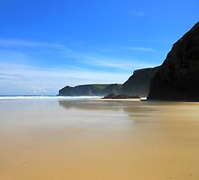 Tolsta Beach at Midday - Western Isles by kathrynsgallery
