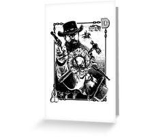 Django Kings Greeting Card