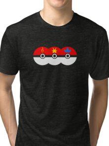 PokeGo CapturedTeams Tri-blend T-Shirt