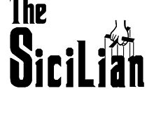 The Sicilian T-Shirt by Linda Allan