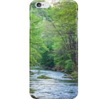 River and trees iPhone Case/Skin