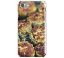 Meatballs cooking iPhone Case/Skin