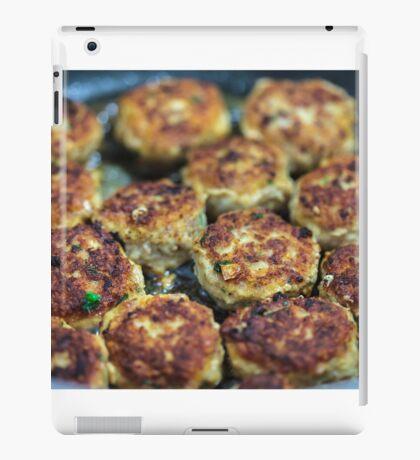 Meatballs cooking iPad Case/Skin