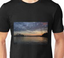 Sunset at Boston Harbor Unisex T-Shirt