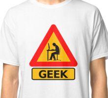 Geek Sign - Computer Nerd Funny T Shirt Classic T-Shirt