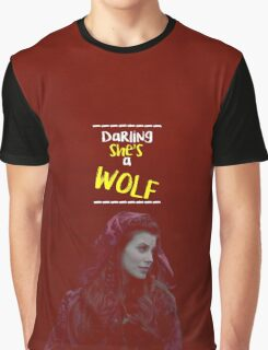 Ruby Lucas ~ Darling She's A Wolf Graphic T-Shirt